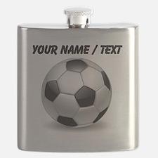 Custom Soccer Ball Flask