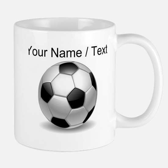 Custom Soccer Ball Mugs