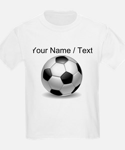 Custom Soccer Ball T-Shirt