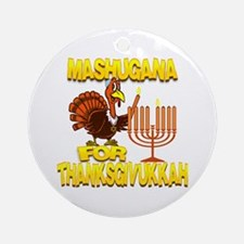 Mashugana For Thanksgivukkah Turkey and Menorah Or