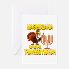 Mashugana For Thanksgivukkah Turkey and Menorah Gr