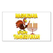 Mashugana For Thanksgivukkah Turkey and Menorah St