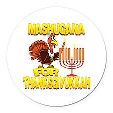 Mashugana For Thanksgivukkah Turkey and Menorah Ro