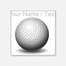 Custom Golf Ball Sticker