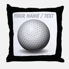 Custom Golf Ball Throw Pillow