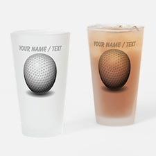 Custom Golf Ball Drinking Glass