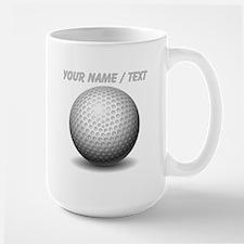 Custom Golf Ball Mugs