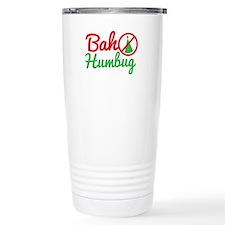 Bah Humbug NO CHRISTMAS! Travel Mug