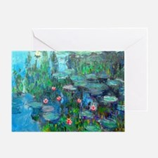 Laptop Monet WL1914v2 Greeting Card