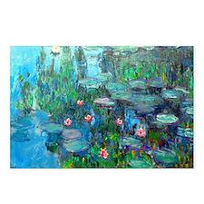 Laptop Monet WL1914v2 Postcards (Package of 8)