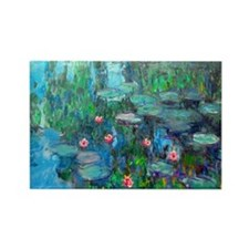Laptop Monet WL1914v2 Rectangle Magnet