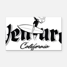 Ventura Surfer Girl 032212 co Rectangle Car Magnet