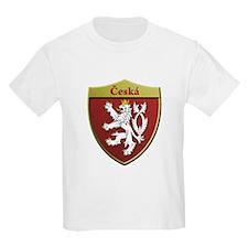 Czech Metallic Shield T-Shirt