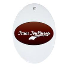 Team Tonkinese Oval Ornament