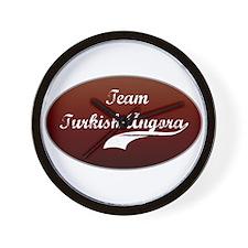Team Angora Wall Clock