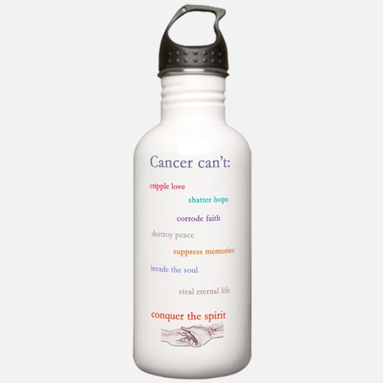 cancer cant drk2 Water Bottle