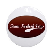 Team Van Ornament (Round)