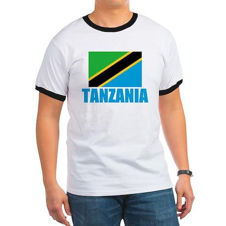Tanzania Flag T Shirts Ringer T