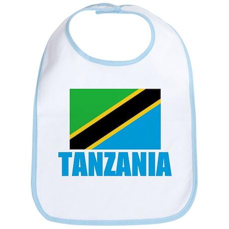 Tanzania Flag T Shirts Bib