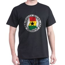 Ghana Accra LDS Mission Flag Cutout M T-Shirt