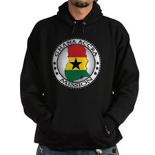 Ghana Accra LDS Mission Flag Cutout  Hoodie