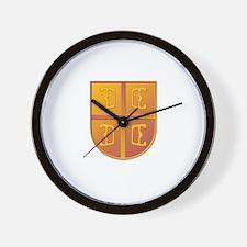 Grb Srbije Wall Clock
