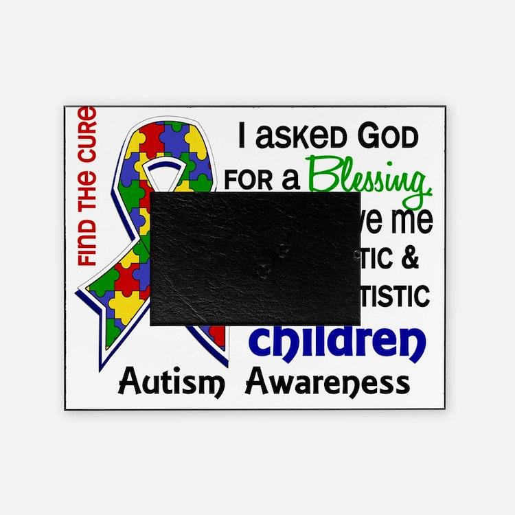 D Blessing 4 Autism Children 2 Prima Picture Frame