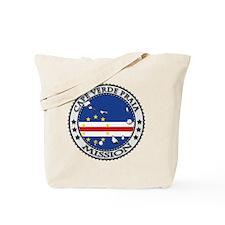 Cape Verde Praia LDS Mission Flag Cutout  Tote Bag