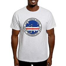 Cape Verde Praia LDS Mission Flag Cu T-Shirt