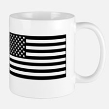 black and clear IR flag right and left Mug