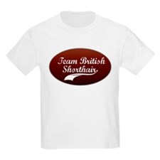Team Shorthair Kids T-Shirt