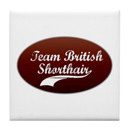 Team Shorthair Tile Coaster