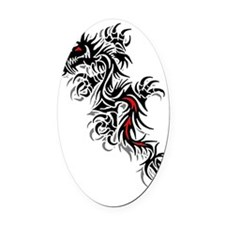 dragon1 Oval Car Magnet