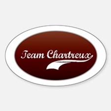 Team Chartreux Oval Decal