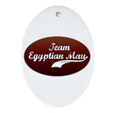 Team Mau Oval Ornament