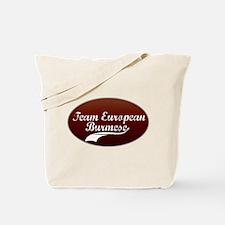 Team Burmese Tote Bag