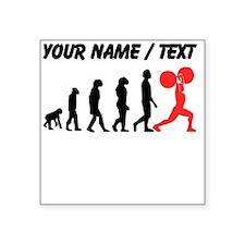 Custom Weightlifting Evolution Sticker