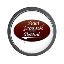 Team Bobtail Wall Clock