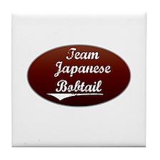 Team Bobtail Tile Coaster
