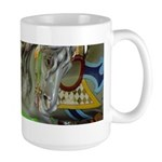 Carousel Horse Large Mug