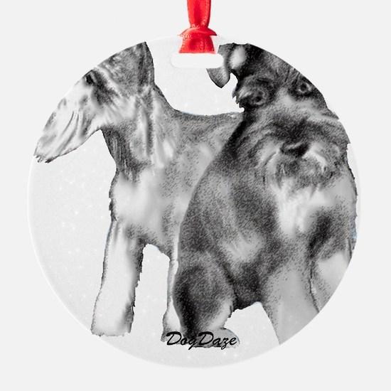 schnauzers Ornament