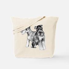 schnauzers Tote Bag