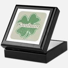 """Shamrock - Graham"" Keepsake Box"