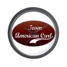 Team Curl Wall Clock