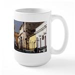 Colorful Village Large Mug