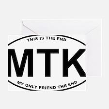 MTK2 Greeting Card