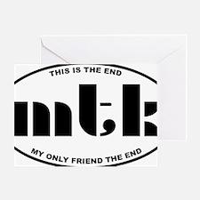 MTK3 Greeting Card