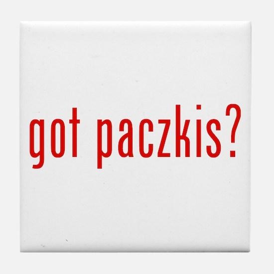 got paczki? Tile Coaster