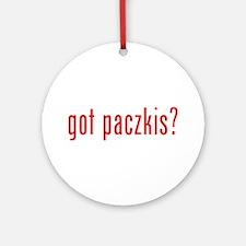 got paczki? Ornament (Round)