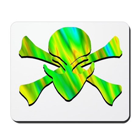 Alien Jolly Roger Picasso Mousepad